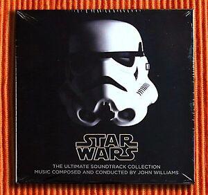 JOHN-WILLIAMS-STAR-WARS-THE-ULTIMATE-CD-COLLECTION-10CD-amp-1DVD-Boite-Ensemble
