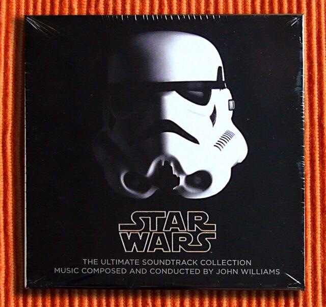 JOHN WILLIAMS STAR WARS THE ULTIMATE CD COLLECTION 10CD & 1DVD Boîte Ensemble