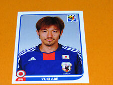 381 ABE JAPAN NIPPON JFA PANINI FOOTBALL FIFA WORLD CUP 2010