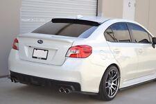 HIC USA 2015 To 2017 Impreza WRX STI Rear Roof Window Visor Spoiler ((CF