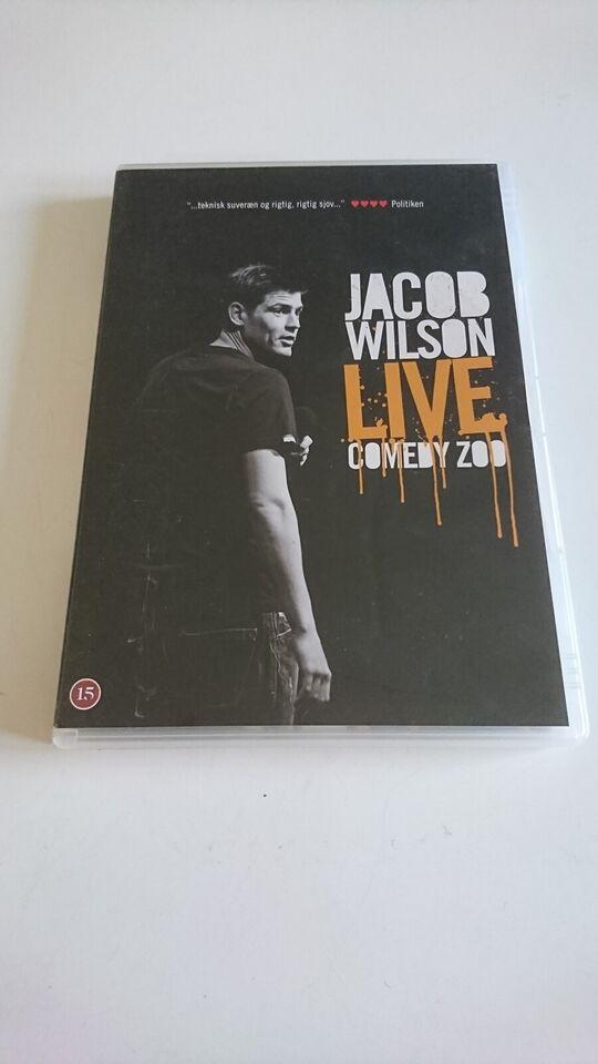Jacob Wilson Live Comedy Zoo, DVD, stand-up