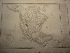 L'Amerique Septentrionale - Delamarche - De Vaugondy - Atlas - 1838 - Paris