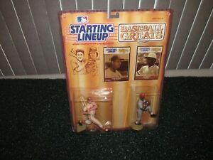 Starting Lineup 1989 Bob Gibson/Stan Musial St. Louis Cardinals Baseball Greats