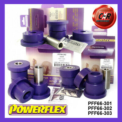 2 in Box PFF66-302 Powerflex Front Track Control Arm Inner Bushes Purple
