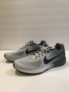 Details about NIKE Womens W Air Zoom Structure 21, Pure PLATIMUMAnthracite, 12 M US