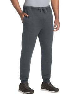 2 Hanes Men/'s 1901 Heritage Fleece Jogger Pants with Pockets O8368 549632