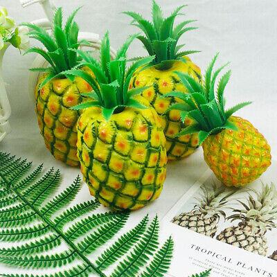 Fruits Artificial Pineapple Lifelike Plastic Home Decoration Photographic Prop