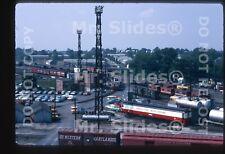 Original Slide WM Western Maryland Hagerstown MD Caboose Tracks & Yard Office