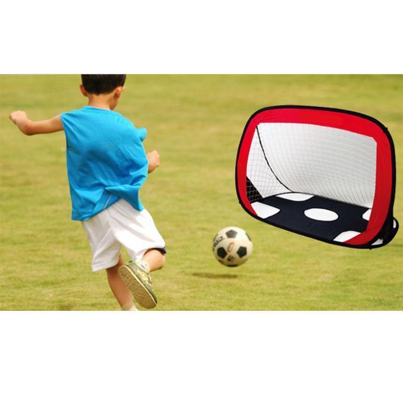 Infantil Plegable Fútbol Gol Portátil Puerta Training Deportes Al Aire Libre