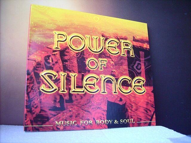 POWER OF SILENCE  ++  V.A./ MUSIC FOR BODY & SOUL  ++  CD / NEU