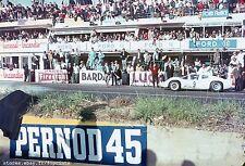 Chaparral 2D. Hill & Bonnier. Le Mans 1966. Vintage 35mm F1 slide / diapo. S285