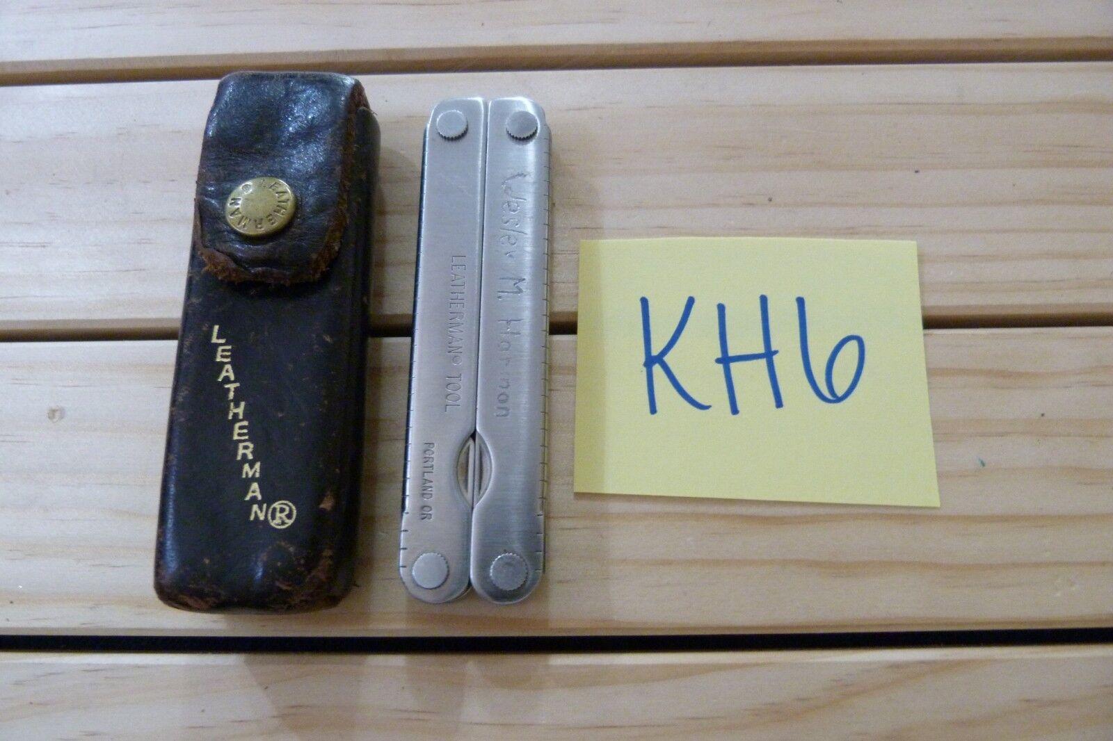 Leatherman Folding Multi Tool Knife  PST & LEATHER  SHEATH -KH  big discount prices