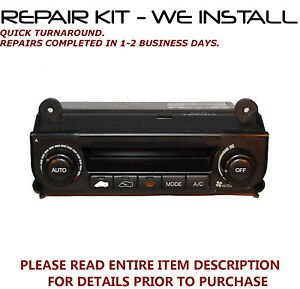 WE INSTALL! REPAIR KIT for 1991-2005 Acura NSX A//C Heater Climate Control EATC