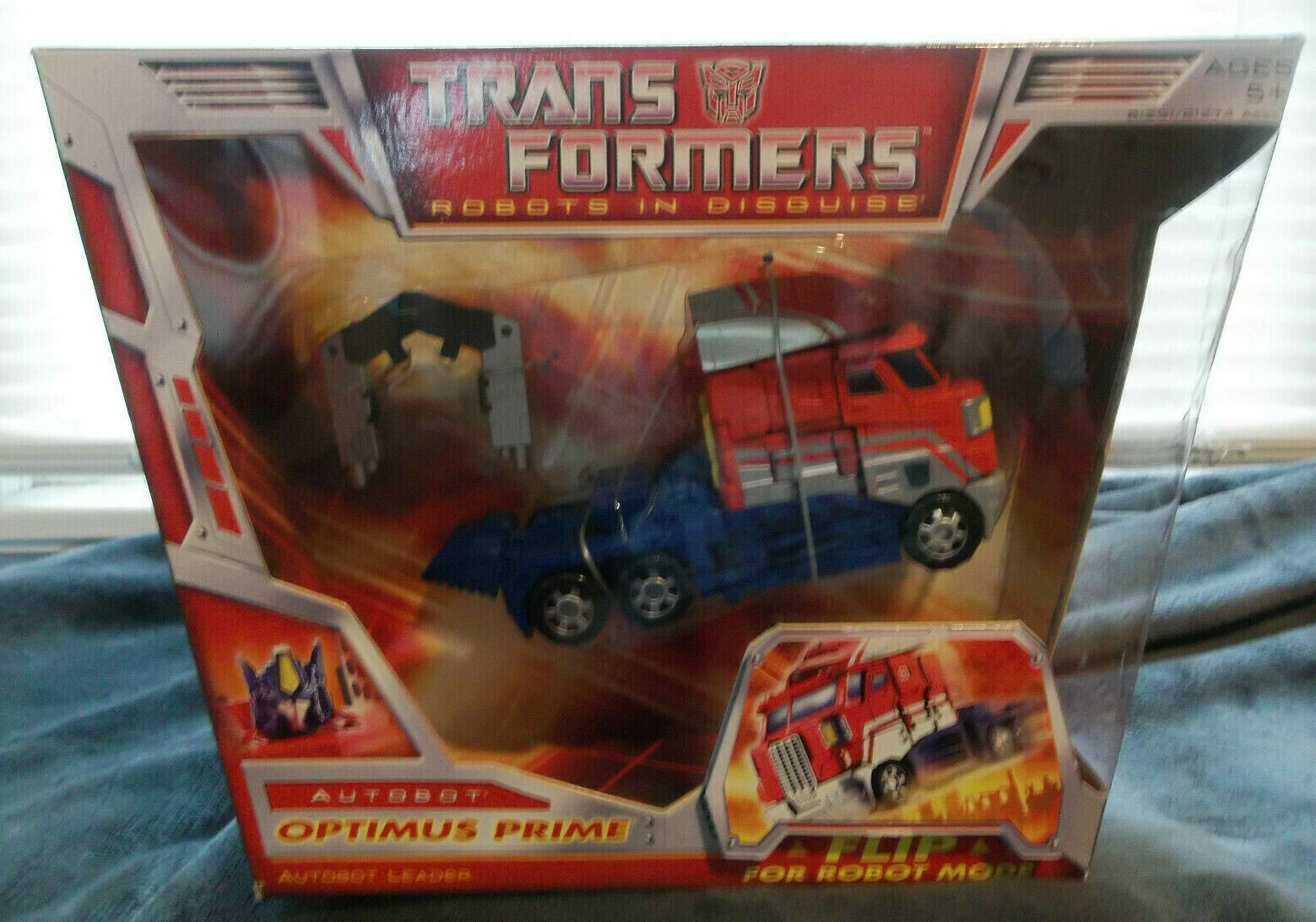TRANSFORMERS Carbot OPTIMUS PRIME Carbot Leader NEW In Box 2006 Hasbro