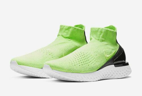 Nike Rise React Flyknit Lime Blast 2019