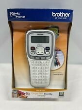 P Touch Pt H100 Electronic Label Maker System By Brother New