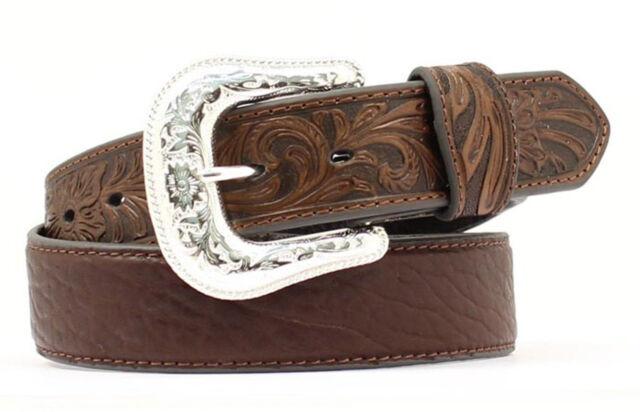 Nocona Belt Company mens Brown Bullhide Belt