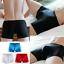 Men-Sexy-Ice-Silk-Seamless-Breathable-Comfy-Boxers-Underwear-Bulge-Briefs-Shorts miniatura 2