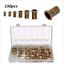 150pcs Mixed Zinc Plated Carbon Steel Rivet Nut Threaded Rivnut M3//4//5//6//8//10