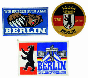 verschiedene-Aufnaeher-Patch-Berlin-ideal-fuer-Kutte-Sammler-Fans-fun
