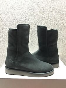 4251403ada9 Details about UGG CLASSIC LUXE COLLECTION ABREE SHORT GRIGIO SUEDE Boot US  7 / EU 38 / UK 5.5
