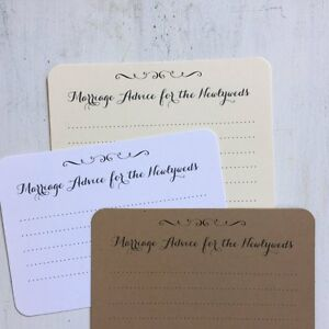50 marriage advice cards wedding advice cards wedding wish cards