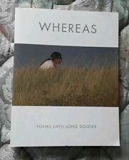 Whereas : Poems by Layli Long Soldier (2017, Paperback)