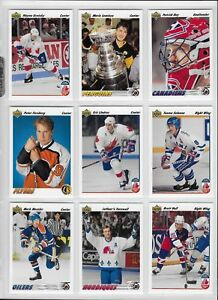 1991-92-UPPER-DECK-HOCKEY-COMPLETE-SET-1-700-NHL-FREE-SHIPPING