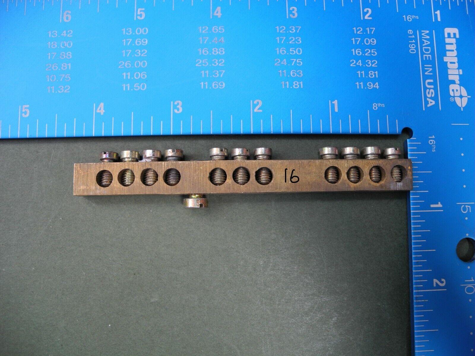 Earth Bonding Brass Multi Connection Terminal Connectors,3w,7w,9w,10w,11w,15w