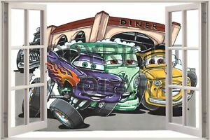 Huge-3D-Koolart-Window-view-Diner-Wall-Sticker-Poster-2012