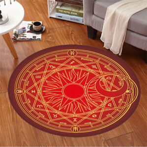 Image Is Loading Card Captor Sakura Magic Circle Floor Door Mat