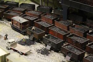 Bulkscene - 1mm Fine Model Coal Oo/ho Gauge Trackside Bulk Quantities Rendre Les Choses Pratiques Pour Les Clients