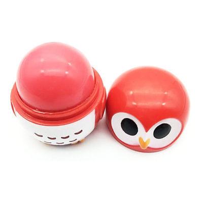 Makeup Moisturizing Lip Balm Natural Plant Lip Gloss Cute Owl Embellish Lipstick