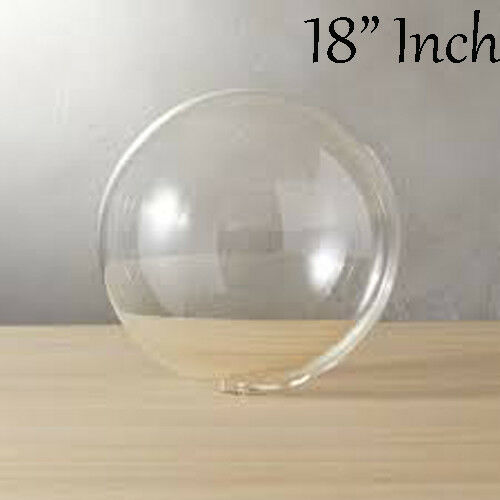 "18/""-36/"" BoBo Crystal ClearTransparent Balloons Wedding Birthday Xmas Party Decor"