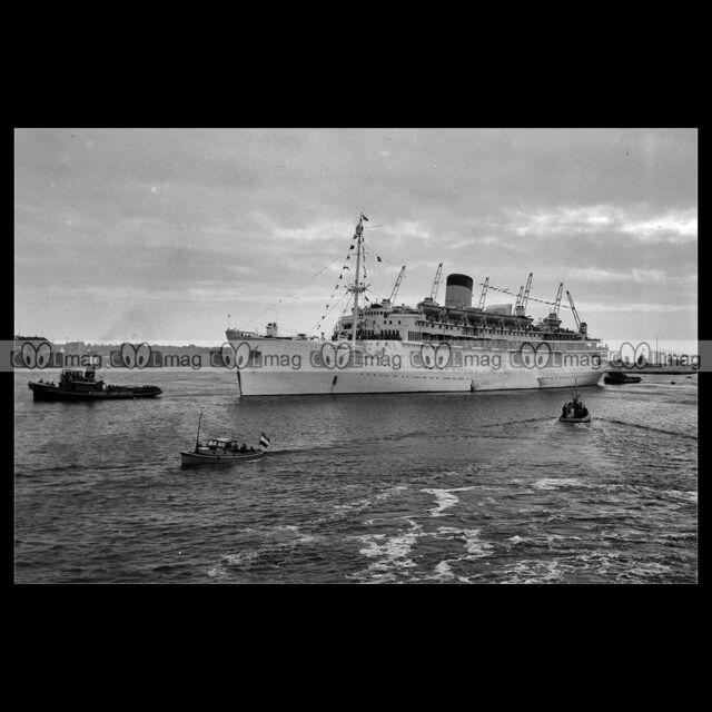 #php.01724 Photo SS ORANJE NETHERLAND LINE 1946 PAQUEBOT CRUISE SHIP