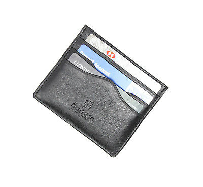 Starhide homme en cuir véritable ultra slim carte de crédit case holder//Oyster pass