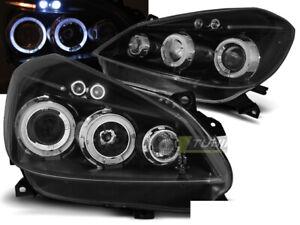 Forlygter für Renault CLIO 3 III 05-09 Black Angel Eyes LPRE28ET XINO DE
