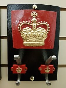 RED TELEPHONE BOX COAT HANGER USING THE CAST OF A ST. EDWARDS CROWN K6, KIOSK