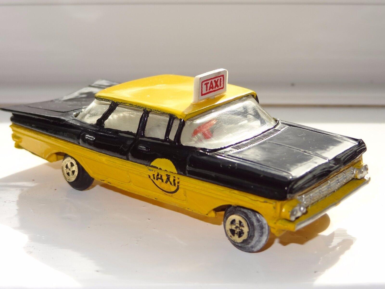 (a) Milton Maxwell India Chevrolet Impala taxi