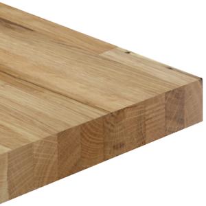 Solid Oak Timber Worktop Breakfast Bar Rustic Natural ...
