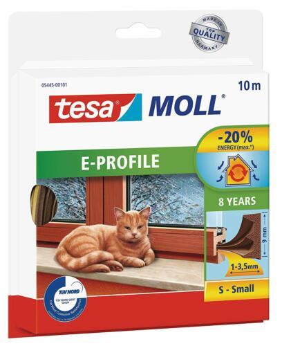//Seal bande Tesamoll E-Profil Auto Adhésif En Caoutchouc De Tirant d/'eau//PROJET DE CHASSE