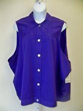 Physical Attraction Purple Vest & Crop Pant Set  6X NWT