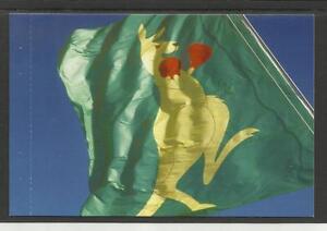 AUSTRALIA-2004-BOXING-KANGAROO-POSTCARD-The-Boxing-Kangaroo-FLAG