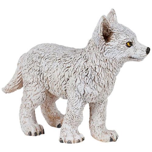 Papo Wild Animal Kingdom Young Polar Wolf 50228 NEW