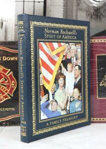 NORMAN ROCKWELL'S SPIRIT OF AMERICA  - Easton Press - SCARCE