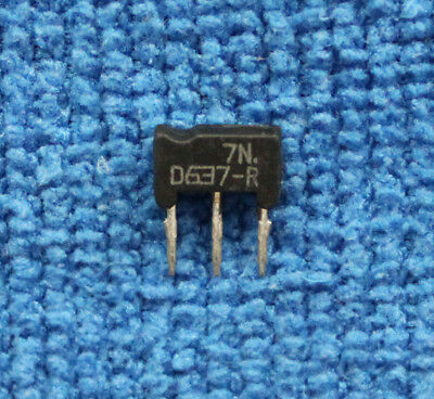 Nuevo 5PCS 2SD637-R D637-R 2SD637 D637 SIP-3 Transistor