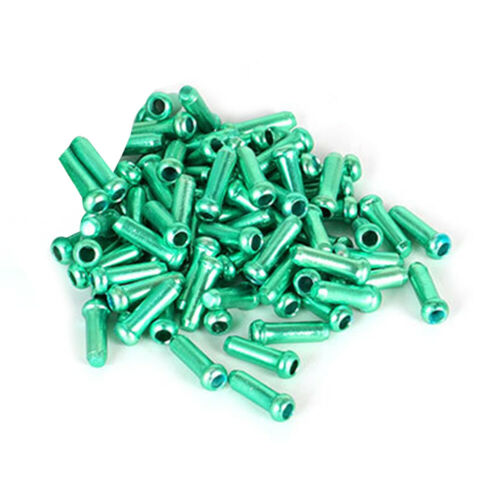 50pcs Bicycle Cable End Caps MTB Bike Brake Shifter Aluminum Wire Cable Tip