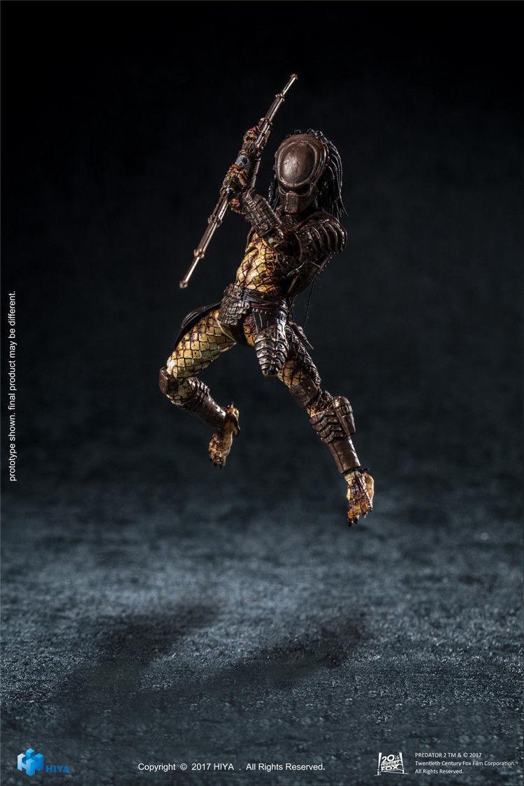 Hiya Toys L0017 Predator 2 City Hunter Assortmant 1 18th Figure PVC Collection