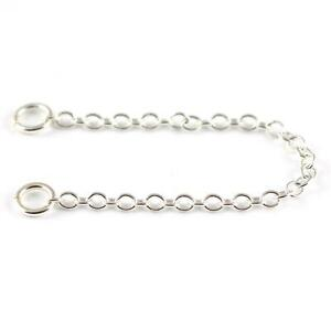 6cm-Sterling-Silver-Safety-Chain-For-Silver-Charm-Bracelets