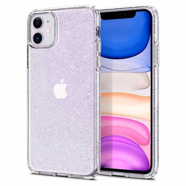 Cover iPhone 11 trasparente Spigen Liquid Crystal Glitter TPU con brillantini